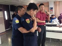 永和警辦急救訓練 「CPR +AED」掌握關鍵3分鐘