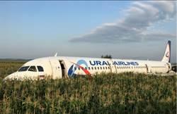 俄國客機遇鳥擊迫降成功 乘客多數平安