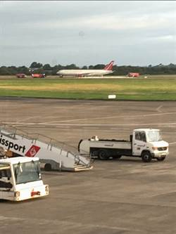愛爾蘭767客機起飛前冒煙 機上美軍趕緊撤