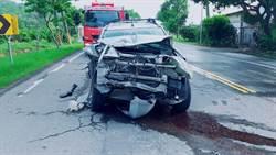 台九線三車追撞 2駕駛傷送醫