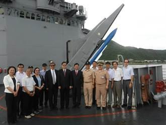 法務部行政執行署 參訪海軍一六八艦隊