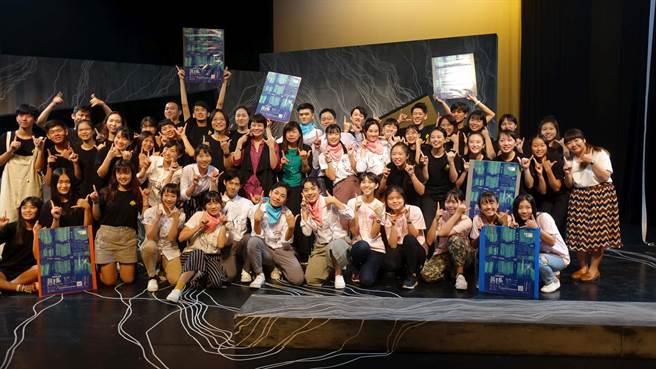 影響新劇場帶領50位青少年由此發想,製作演出《共振》。(曹婷婷攝)