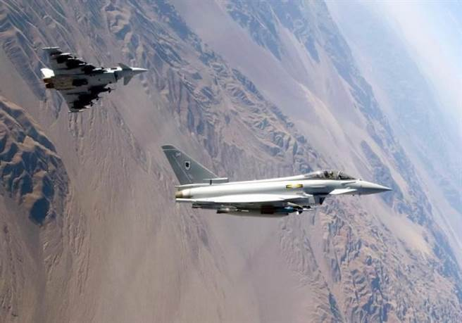 英國的颱風戰機在2003年開始交付,2019年才全部交貨。(圖/英國皇家空軍)