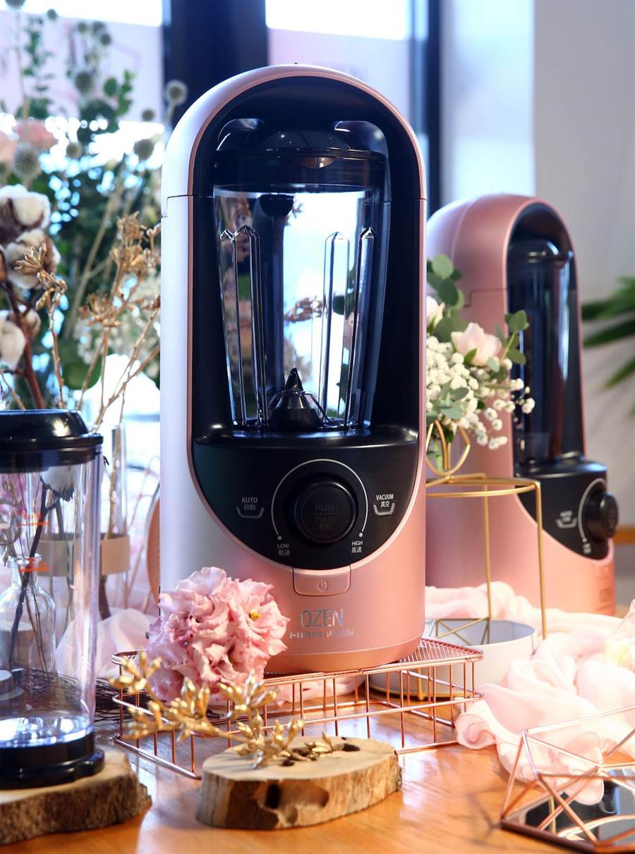 OZEN真空抗氧破壁食物調理機,2萬9800元。(OZEN提供)