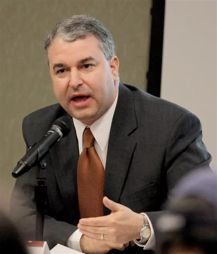 美國德州大學奧斯汀分校中國公共政策中心創始執行主任、布希美中關係基金會總裁方大為(David J. Firestein)。(圖片翻攝自環球網)