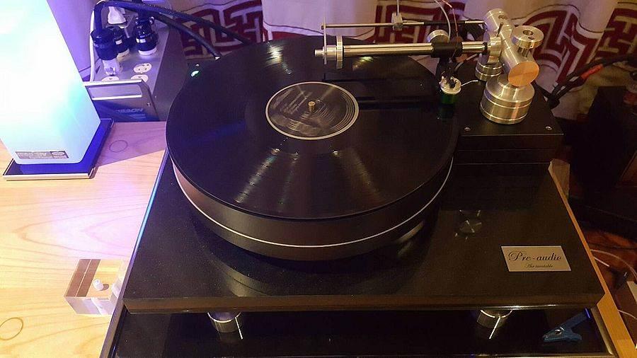 來自波蘭的Pre-Audio黑膠唱盤。(圖取自活動官網)
