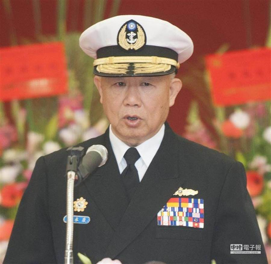 前海軍司令陳永康擔任國民黨總統候選人韓國瑜的國防小組顧問。(中時資料照)