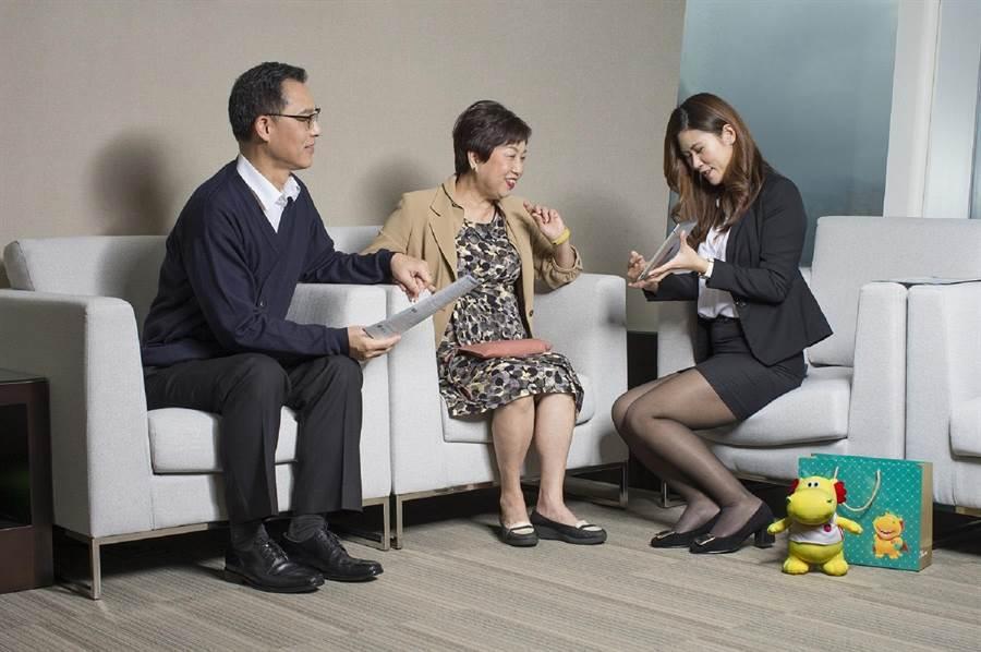 台灣人壽配合主管機關放寬小額終老保險保額上限至新台幣50萬元。(台壽提供)