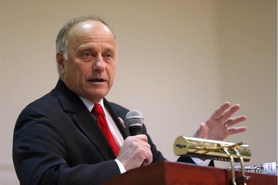 美國共和黨籍聯邦眾議員金恩最新的發言又引發爭議。(美聯社)