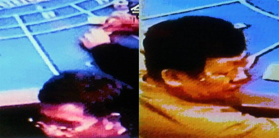 2005年10月,陳哲男遭媒體爆料指出,赴韓國首爾賭場並被拍下照片。(圖/翻攝自TVBS電視畫面、汪志冰臉書)