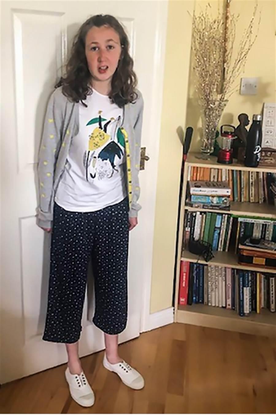 失蹤的愛爾蘭少女奎爾林可能死於腸胃道出血。(法新社)