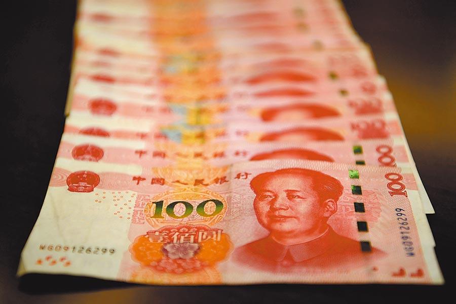 美推遲對部分大陸產品加稅,人民幣應聲大漲。(中新社)