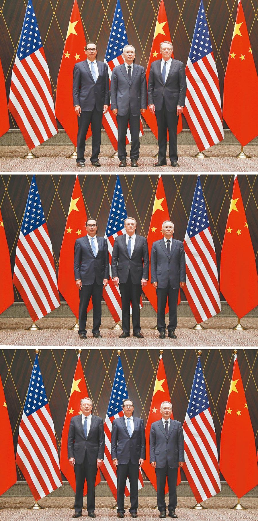 7月31日,第十二輪中美經貿高級別磋商在上海舉行。   (新華社)