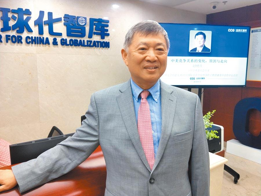 美國丹佛大學國際關係學院終身職教授、美中合作中心主任趙穗生。(記者陳君碩攝)