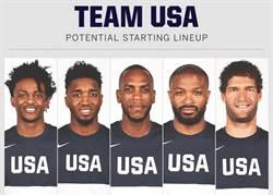 沒沃克?美國男籃預測先發出爐