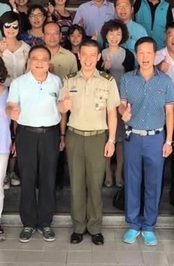 小英官邸內衛主任 憲兵參謀長鄭禎祥少將接任