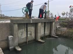 降低水患提升養殖漁業產能 台南養殖區水門改建年底完工