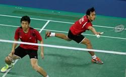 前世界羽球男雙第一來台傳授球技
