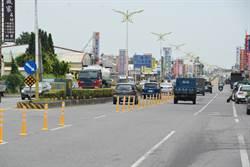 花蓮市中央路四段進行道路改善 預計10月底全面通車