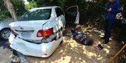 毒販拒捕衝撞警車 警轟7槍逮人