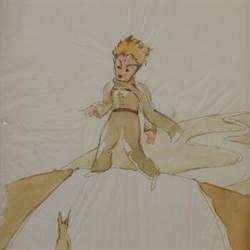 經典小說小王子插圖草稿瑞士現身 保存狀況良好