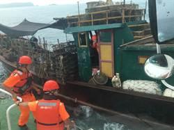 大陸休漁期最後一日 海巡威力掃蕩緝獲陸船