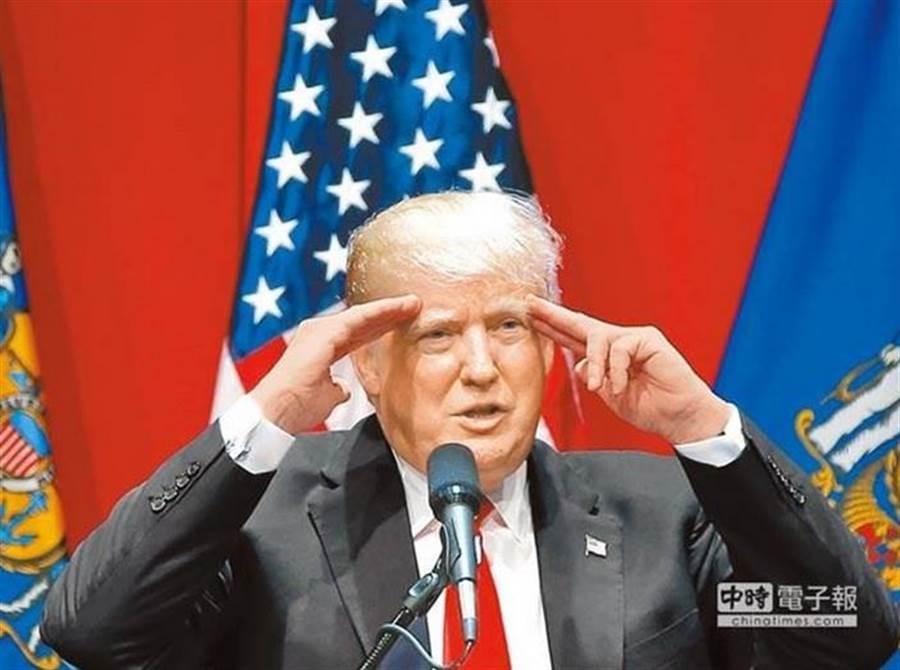 美國總統川普。(美聯社資料照片)