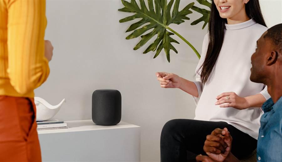 蘋果透過官網公布,HomePod 智慧音箱 8 月 23 日正式在台上市,今開放預購。(圖/翻攝蘋果官網)