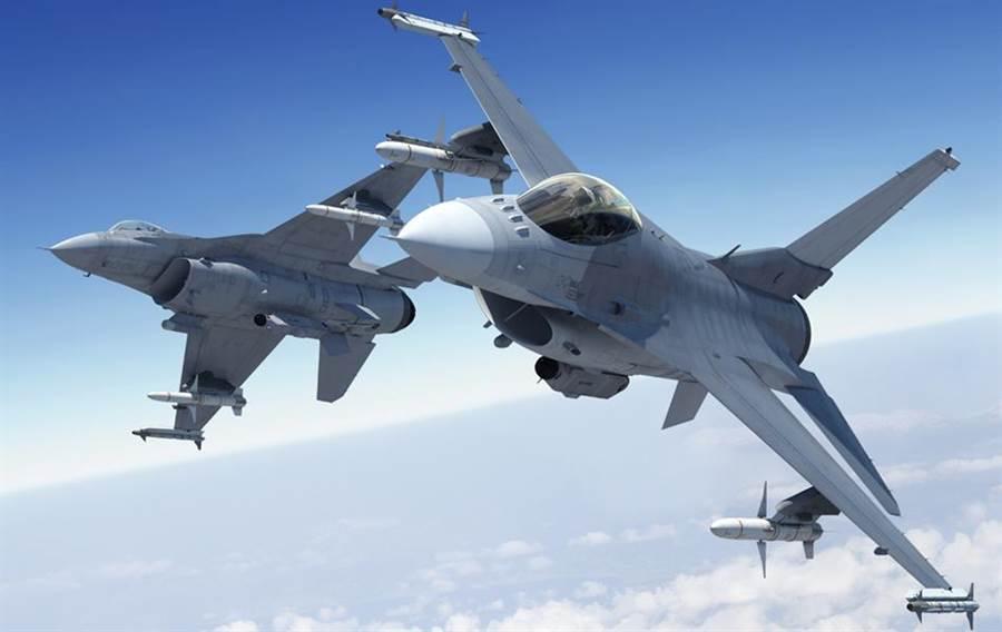 F-16V戰機。(洛克希德馬丁)