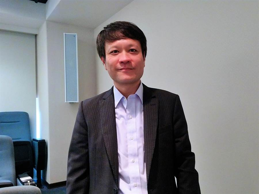 華紙副總經理暨發言人陳瑞和。(林資傑攝)