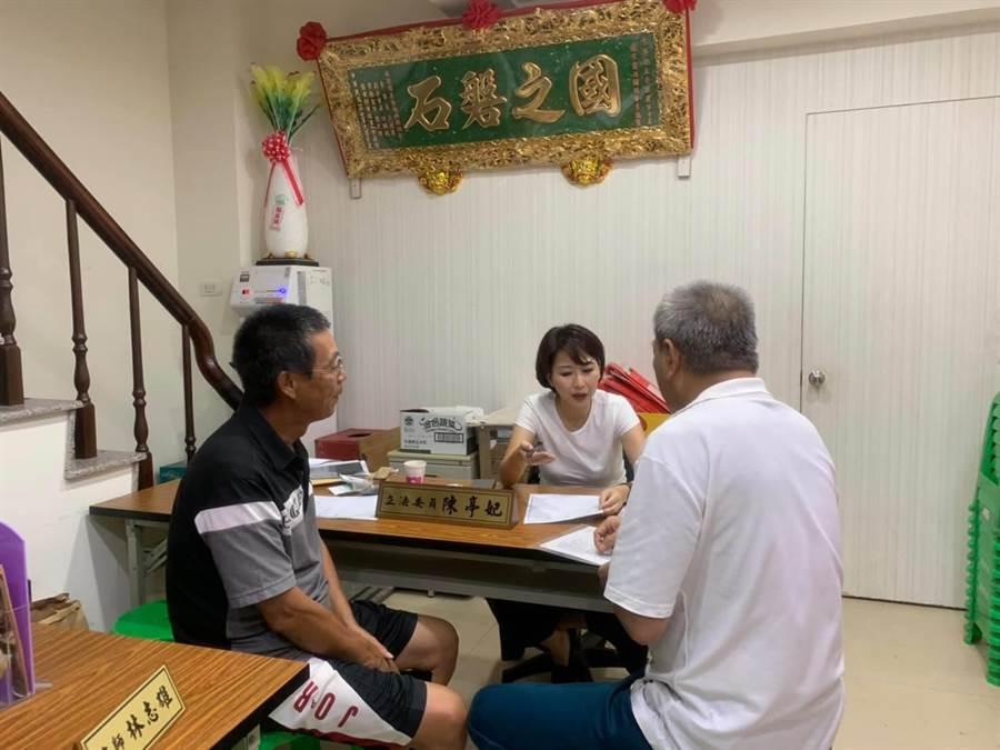 陳亭妃落實基層扎根服務,在台南市立委第三選區的實力強勁。(翻攝自陳亭妃臉書)