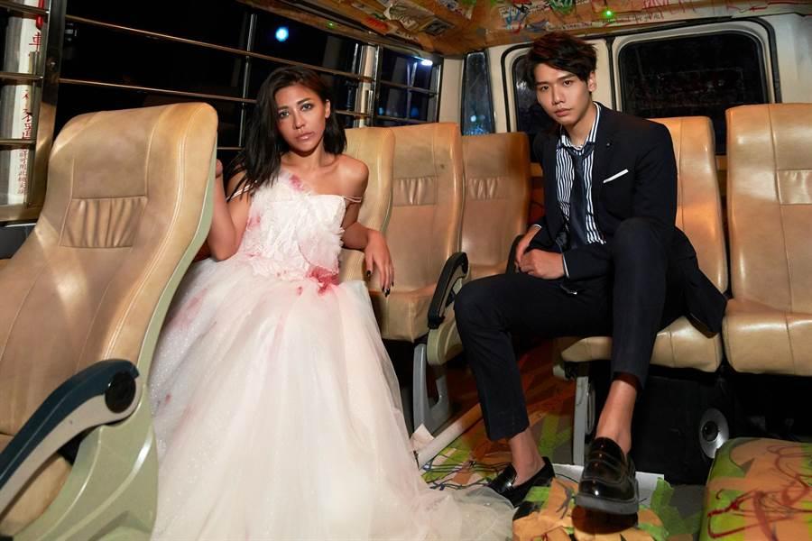 蔡旻佑(左)新曲邀艾怡良合作。(何樂音樂提供)
