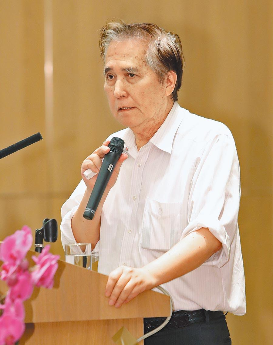 永齡健康基金會精準醫學專案執行長、前台大醫院副院長許世明。(鄭任南攝)