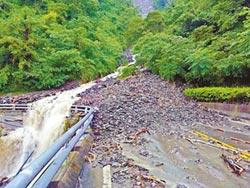 霧台、瑪家鄉道路 土石坍方
