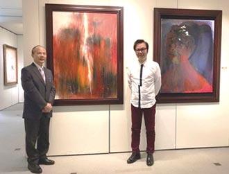 藝術家陳歡 台北藝博會秀作品