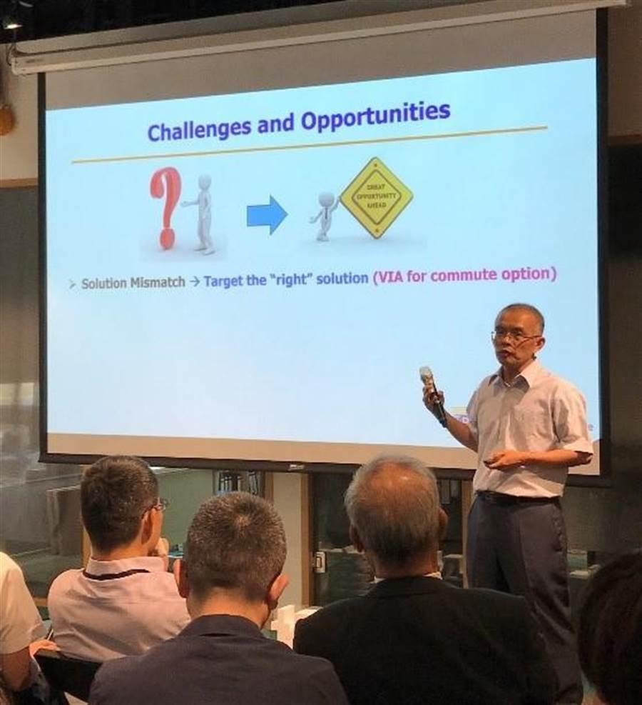 加州大學柏克萊分校AI與自駕車研究中心共同負責人詹景堯。圖/台杉投資