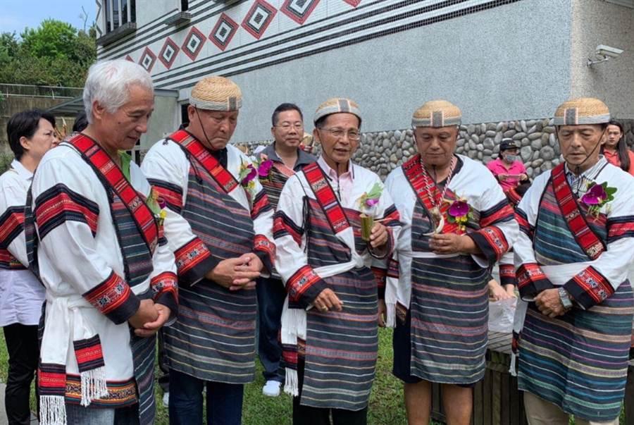 苗栗縣政府17日起在泰安鄉泰雅文物館推動原住民族日系列活動,上午舉行開幕儀式。(原民中心提供)