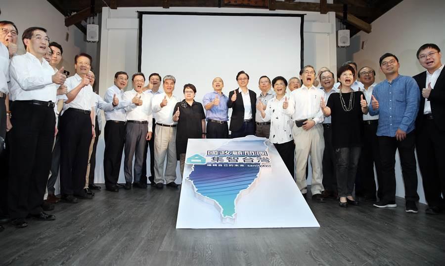 韓國瑜國政顧問團成立。(姚志平攝)