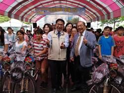 12年贈逾千輛單車 康那香老董助家扶兒開心上學去