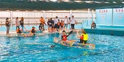 學子DIY造舟 重現鹿港飛帆