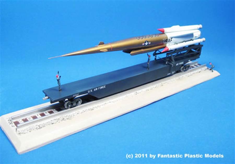美國在1950~60年代,曾提出核動力飛彈的計畫。(圖/ProjectPlutoPage)