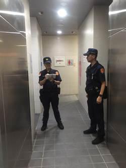 廁所驚見「雙殺國瑜」貼紙 高雄警全面清查發現...