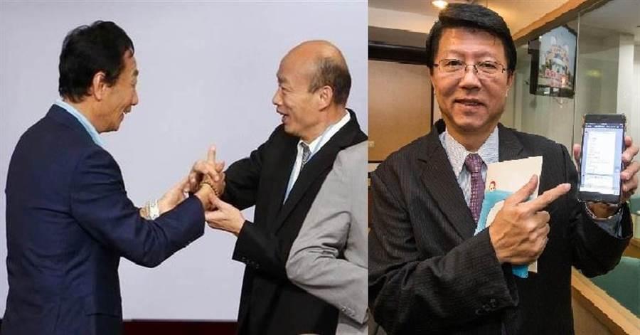 國民黨台南市黨部主委謝龍介。(圖/合成圖,本報資料照)