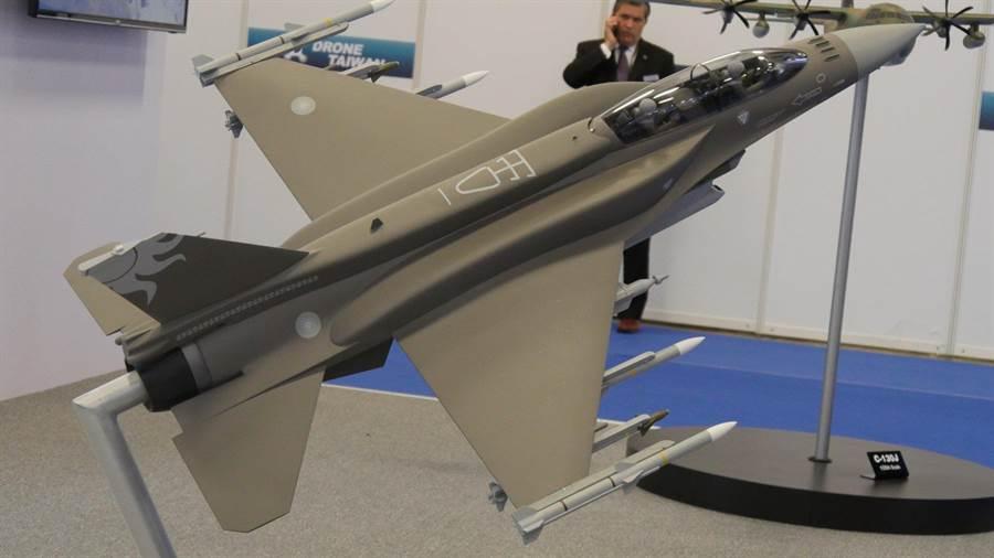 美製F16V戰機。(圖/示意圖,本報資料照,李俊毅攝)