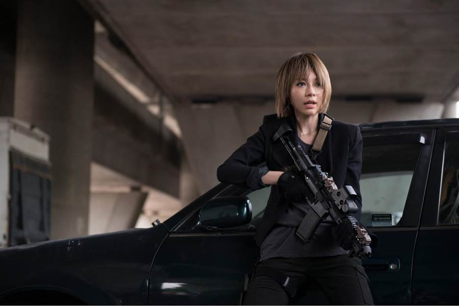 林明禎先前參加電影演出,挑戰武打戲,氣勢十足。( YES!益思文化提供)