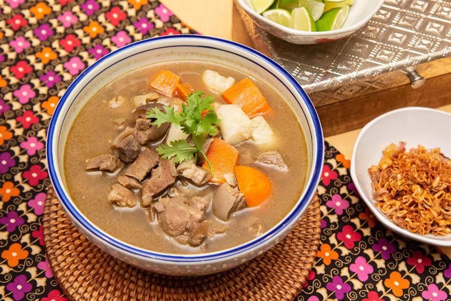 馬來羊肉湯。(台北君悅酒店提供)