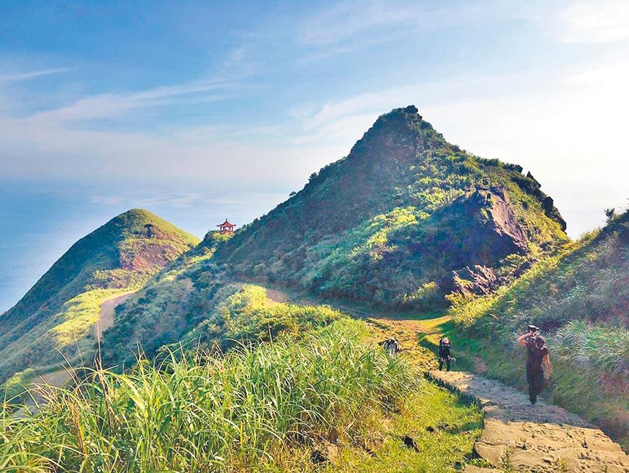 茶壺山能一覽金瓜石地區美景。(本報資料照片)
