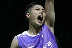 羽球世錦賽》驚濤駭浪的一戰 周天成晉級次輪