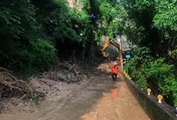 中市農路連日強降雨受損 水利局火速搶通