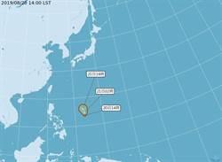 白鹿颱風將形成 周六最靠近台灣